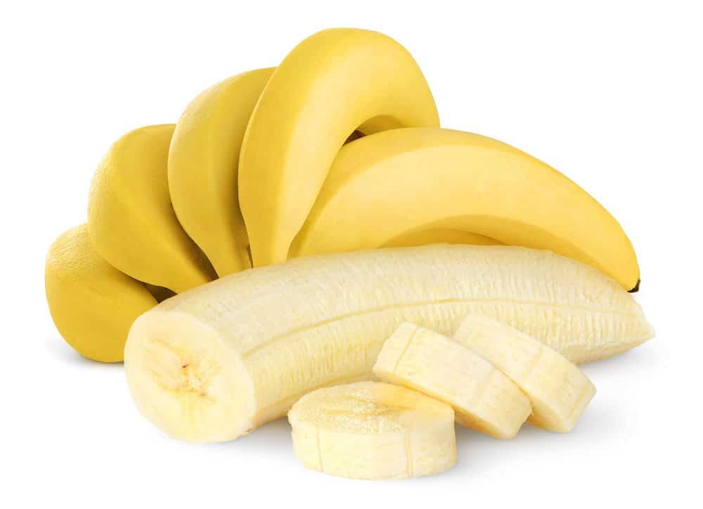 Bananen sind sehr reich an Magnesium und Vitamin B6